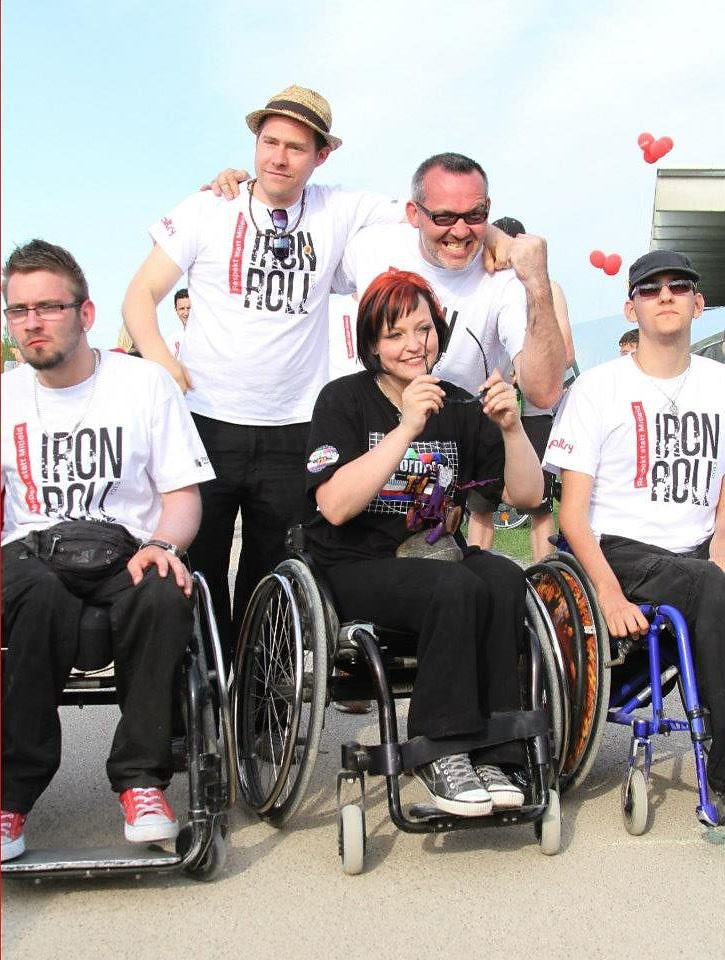Iron Roll 2013 Respekt statt Mitleid